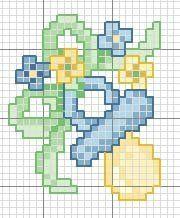 stellina punto croce - Cerca con Google