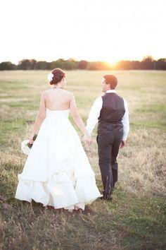 California Ranch Wedding: Michelle   Casey