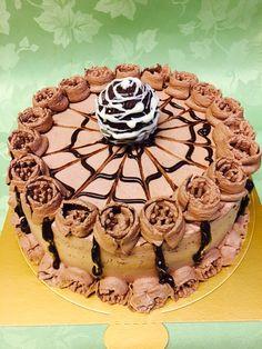 Chiffon Mocha Cake
