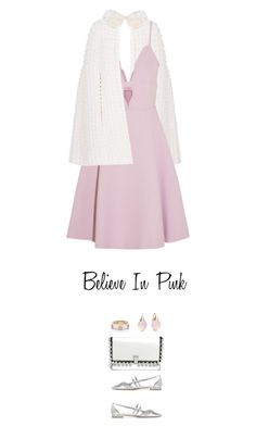 """""""I Believe In Pink"""" by celida-loves-pink ❤ liked on Polyvore featuring Yves Saint Laurent, Giambattista Valli, Miu Miu, Proenza Schouler, Pomellato and Kate Spade"""