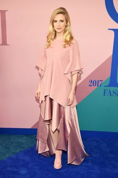 brit marling cfda awards red carpet 2017