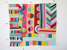 patchwork in solids by Lu Summers