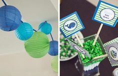 Bump Smitten: Real Baby Shower: Preppy Whales
