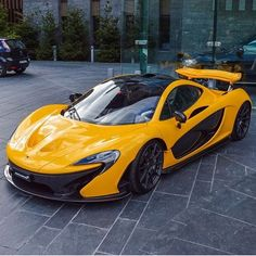 """Yellow P1 : @cars_in_zurich   @jakem3vert   @fastnexotic   @fastlane.photography   #mclaren#p1#speedfanatics"""