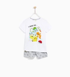 b6ad0b8f9c Image 1 of POKEMON PAJAMAS from Zara Pokemon Pajamas