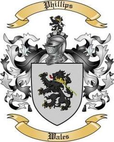 Phillips Family Crest/ Coat of Arms