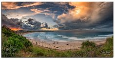 Kirra hill sunset by JaydeAleman The Good Place, Landscapes, Sunset, Amazing, Water, Places, Outdoor, Image, Water Water