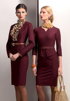 Skirt suits, uniforms, amazing dresses... : Photo