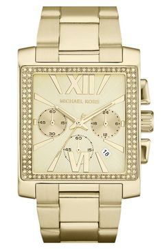 Michael Kors 'Gia' Chronograph Bracelet Watch available at #Nordstrom