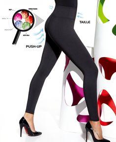 BAS BLEU | Candy anti-cellulitis legging push up | Nu 10% korting! - SOSHIN.nl Squats, Push Up, Candy, Heels, Fashion, Heel, Moda, Fashion Styles, Squat