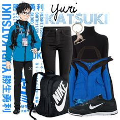 || Yuri Katsuki ~ Yuri!!! On Ice || by freezespell on Polyvore