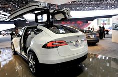 2015 Tesla Model X Safety and MPG