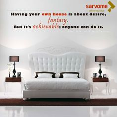 Buy a home for your loved ones, not property.  #Sarvome #Home #home #feeling