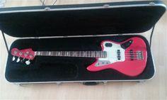 Fender Japan Jaguar Bass   14.5jt Fender Japan, Bass Guitars, Musical Instruments, Jaguar, Drop, Music Instruments, Cheetah