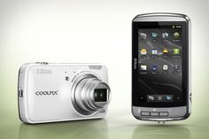 Nikon CoolPix S800c Android Camera - http://coolpile.com/gadgets-magazine/nikon-coolpix-s800c-android-camera/