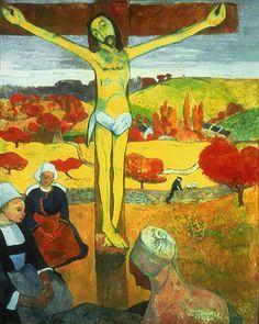 Credit: AP/Metropolitan Museum of Art The Yellow Christ (1899)