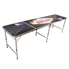 What Happens in the Man Cave, Can and Will Be Talked About - Beer Pong Tables, Ping Pong Table, Man Cave Games, Drafting Desk, Game Room, Vegas, Home Decor, Decoration Home, Room Decor