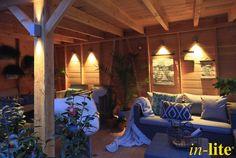 Sfeervol Buitenleven | Eigen Huis& Tuin | Overkapping | Wandlamd ACE DOWN | 12V | Outdoor lighting