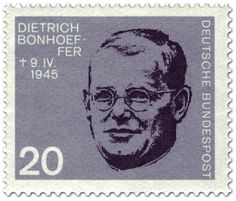 Dietrich Bonhoeffer says Yes to Christianity and Modern Science - Articles Dietrich Bonhoeffer, Dr Oz, German Stamps, Evening Prayer, Science Articles, Religious People, Praying To God, Lutheran, Federal