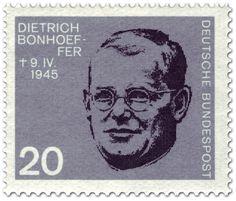 Briefmarke: Dietrich Bonhoeffer