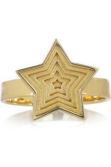 Solange Azagury-Partridge Star Spinner 18-karat gold ring   NET-A-PORTER
