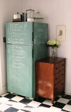 What to do with an old fridge