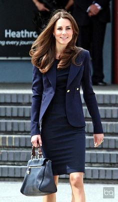 Kate Middleton. I'm constantly told that we look alike, I don't see the resemblance but I will definitely take the compliment.