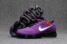 quality design 20c6c 67960 Girls Nike Air Vapormax Flyknit 2018 Light Purple Black White