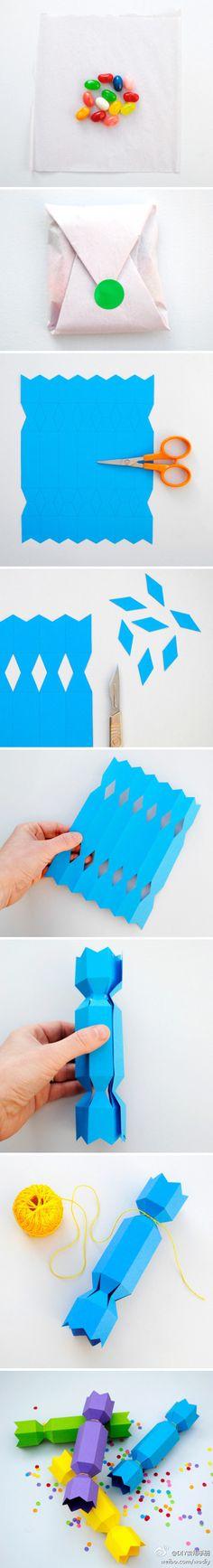 #DIY Empaquetado de candy