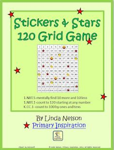Classroom Freebies Too: 120 Chart Game - Stickers and Stars