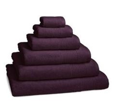 Plum Eygption Cotton Towels