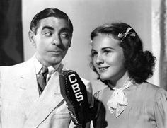 Eddie Cantor and Deanna Durbin -1937