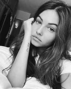 Thylane Blondeau and her new tattoo
