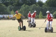 As much as we love horses, polo would definitely be a lot more exciting with some segways instead. What do you think?
