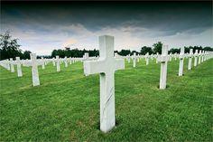 American Military Cemetery, Henri-Chapelle, Belgium