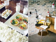 Breakfast Bar by 2tarts for Bed in for Love Styled Shoot. Featured on @Green Wedding Shoes / Jen Campbell.