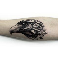 #maciek #niuans #cykada #sopot #tattoo #Tatuaż #eagle #orzeł