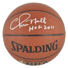 """Chris Mullin Autographed Basketball - Golden State Warriors, Indoor/Outdoor, with """"HOF 2011"""" Inscription - Mounted Memories Certified by Sports Memorabilia. $165.33. This basketball has been personally hand signed by former Golden State Warriors Chris Mullin with the inscription """"HOF 2011"""". The product is officially licensed by the National Basketball League and comes with an individually numbered; tamper evident hologram from Mounted Memories. To ensure authen..."""