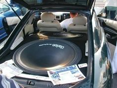 How to get more bass into the car?
