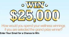 Win $25,000 Cash from Puritan's Pride