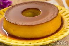 Receita de Pudim de tapioca especial em receitas de pudins, veja essa e outras receitas aqui!