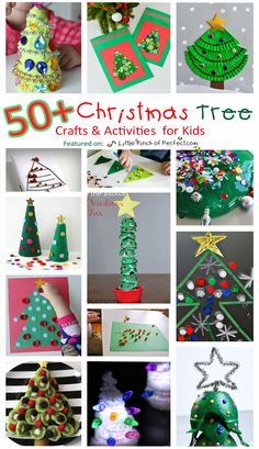 A Little Pinch of Perfect: 50+ Christmas Tree Crafts and Activities for Kids ($2,000 Cash Christmas Giveaway)