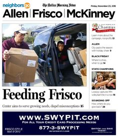 11/23 Cover Story: Frisco Family Services is watching former donors become clients, as residents suddenly lose their job or face pay cuts and loss of insurance.