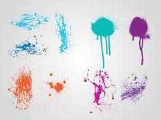 Grunge Paint Layouts