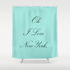 Shower Curtains   Breakfast at Tiffany's  by BellaBellaShoppe