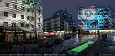 Peter Schildwächter Light Art, Nacht der Museen, Düsseldorf. #LightArt #ProjectionArt #Projection #Illumination #LightArtist #LightArtInstallation #Lichtinstallation #Lichtkunst #Lichtkünstler #Zakk #Düsseldorf #Duesseldorf #Dusseldorf Light Art Installation, Lights Artist, Illumination Art, Light Architecture, More Photos, Corporate Events, Art Gallery, Light Installation, Light Art