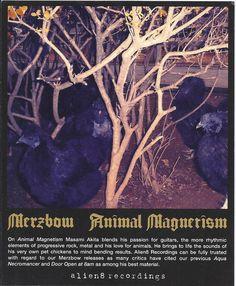 Merzbow (Masami Akita) Animal Magnetism Postcard