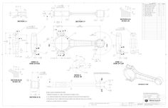 mechanical engineering technical draw - Google Search