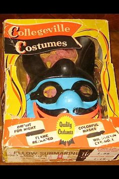 Blue Meanie- Yellow Submarine Halloween costume from 1968