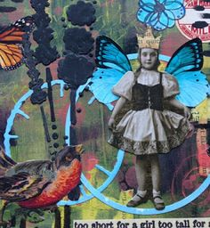 Carol Fox - WeLcOmE 2 mY wOrLd: Being Small For PaperArtsy